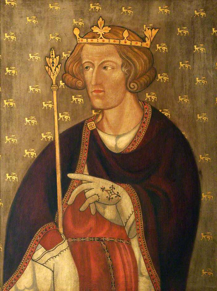 Edward II  King of England from 1307 to 1327; copy after an original in Westminster Abbey) by British (English) School