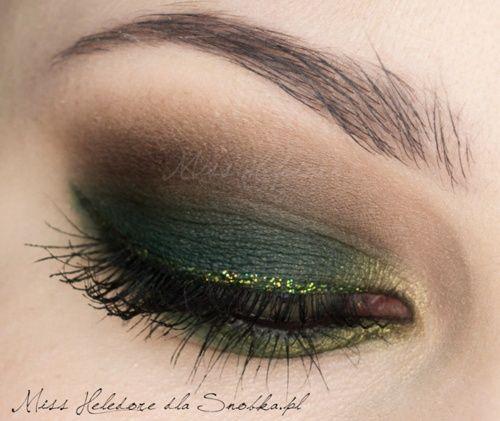 paví zelené stíny
