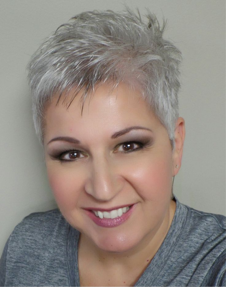 18 Best Hair Cuts Images On Pinterest Grey Hair Hair Cut And