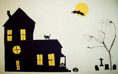 How to Make a Halloween Mural Decoration