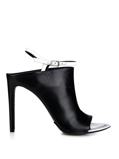 Leather glove sandals | Balenciaga | MATCHESFASHION.COM