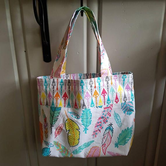 Hey, I found this really awesome Etsy listing at https://www.etsy.com/ca/listing/522303064/mini-tote-feathers