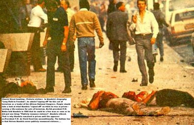 May 20, 1983 - Umkhonto we Sizwe, an activist group serving as the military wing of the African National Congress blew up Church Street, Pretoria. The Church Street bombing killed 19 people and wounded 217 others, making it one of the largest attacks engaged in by the ANC during its armed struggle against apartheid. #history #apartheid #churchstreet