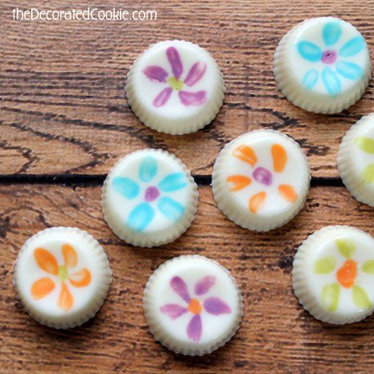 easy painted chocolates and a Candy Making cookbook GIVEAWAY!
