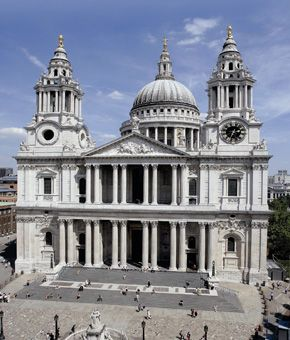 London - I visited many cathedrals, & St. Paul's was my favorite.