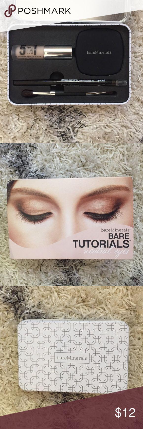 Bare minerals eyeshadow set Bare minerals neutral eyes set Bare Escentuals Makeup Eyeshadow