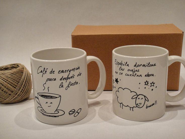 Tazas personalizadas tazas decoradas diy pinterest for Decoracion con tazas de cafe