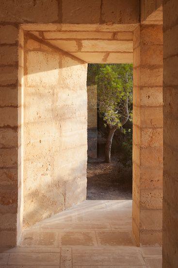 architect Jørn Utzon's house Can Lis on Mallorca