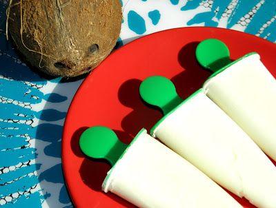 zadanie - gotowanie: Lody kokosowe.