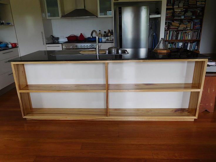 Customer Joinery: Bookshelf extension under kitchen