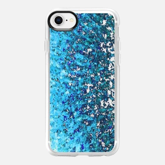 CRACKLE WAVES, BOLD BLUE OMBRE, By Artist Julia Di Sano, Ebi Emporium on Casetify #Casetify #CasetifyArtist #blue #ombre #splash #cobalt #royalblue #turquoise #clearcase #transparent #blush #rose #iphonecase #iphone #iphone6 #iphone6s #iphone7 #iphone7plus #iphone8 #iphone8plus #tech #case #samsung #girly #musthave #chic #want #summer #EbiEmporium #pretty