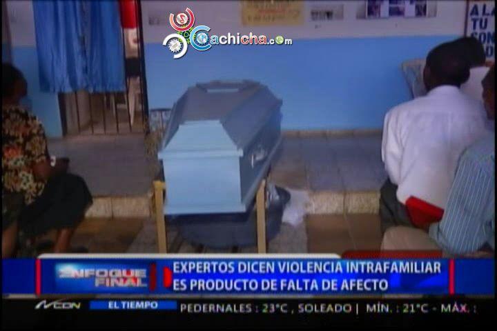 Expertos Dicen Violencia Familiar Es Producto De Falta De Afecto #Video