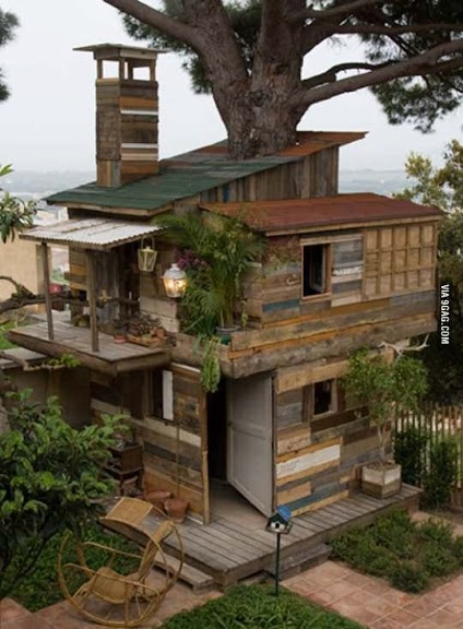 Tree house on steroids