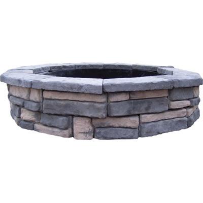 1000 Id Es Sur Le Th Me Stone Fire Pit Kit Sur Pinterest