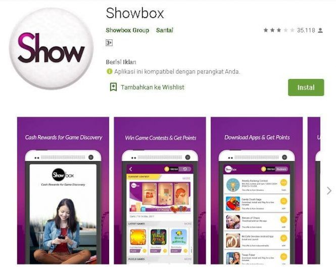 Showbox Penghasil Uang : 6 Aplikasi Android Yang ...