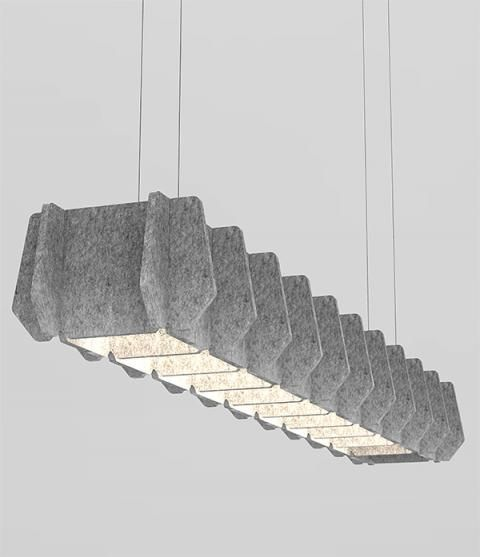 ThinkLab by Luxxbox Matrix - Acoustic Lighting