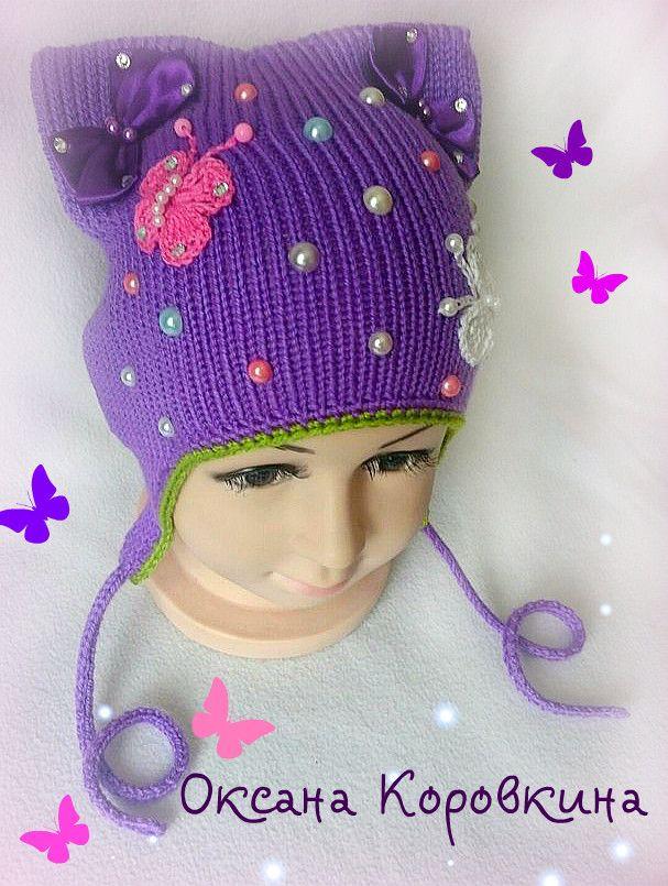 (3) Одноклассники | Вязание шляп, Вязаные крючком шапки ...