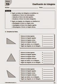 *MIS COSAS DE MAESTRA*: Triángulos: clasificación según sus lados y según sus ángulos