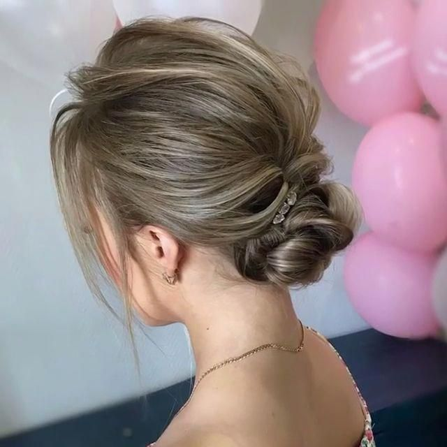 79 Best Updo Hairstyles For Wedding Prom In 2020 Thin Hair Updo Bridal Hair Updo Hairstyles For Thin Hair