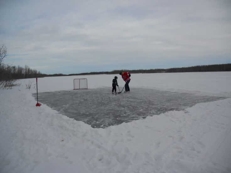Playing hockey on Lucien Lake #lucienlake #winterfun #hockey #hockeyonthelake #winteratthelake #sasklakefront #lakefronthomes #lakesidehomes