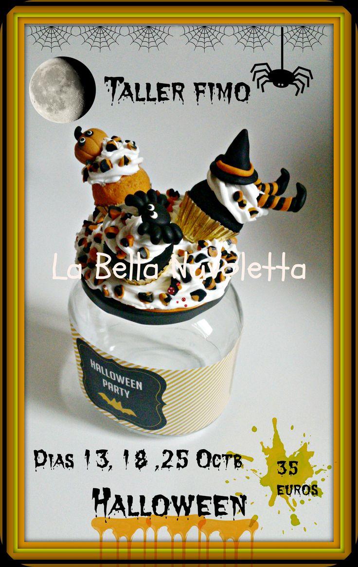 Taller Halloween de La Bella Nuvoletta , Dias 13 y 18 Taller en La Bella Nuvoletta (mas Informacion facebook o en labellanuvoletta@gmail.com Dia 25 de Octubre en Horneando Deseos  Plazas limitadas