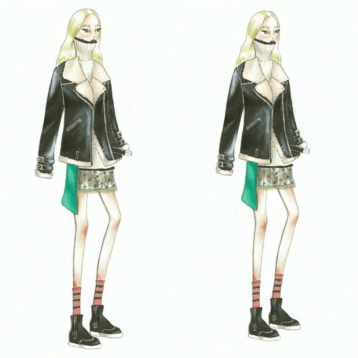 Wonderland (24) Fashion sketch
