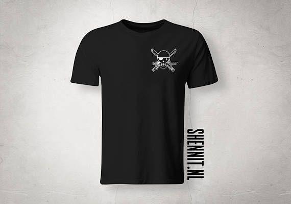 Één stuk Fan Roronoa ZORO Shirt aangepaste ontwerpen UNISEX