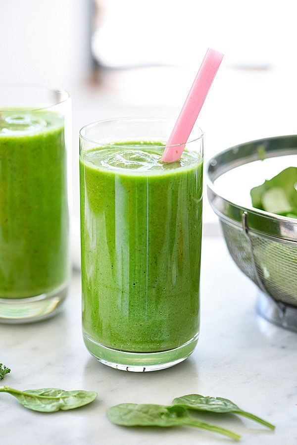 Immune Booster Sweet Green Smoothie   http://foodiecrush.com