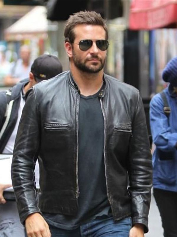 bb4aa040a5d2 Bradley Cooper Adam Jones Leather Jacket in 2019 | Celebrities ...