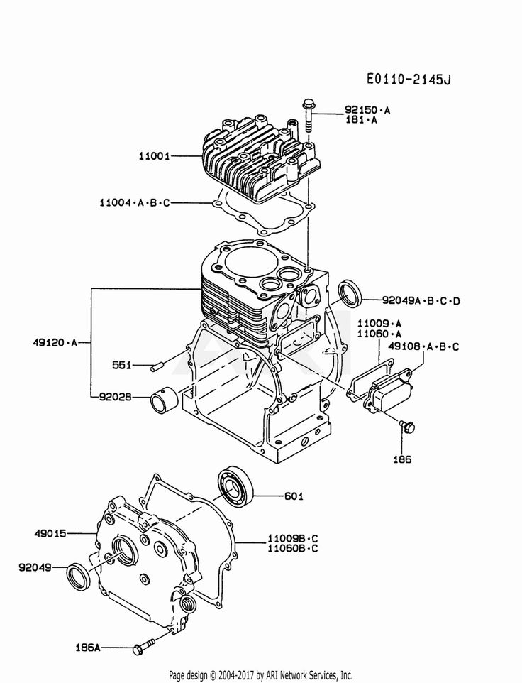 Engine Parts And Functions Diagram di 2020