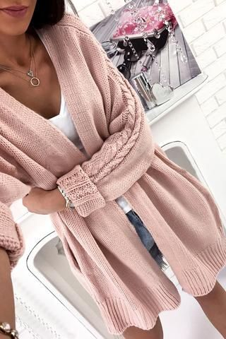 885de61d Fashion Loose Long Sleeve Cardigan Jacket in 2019 | Inspiration ...