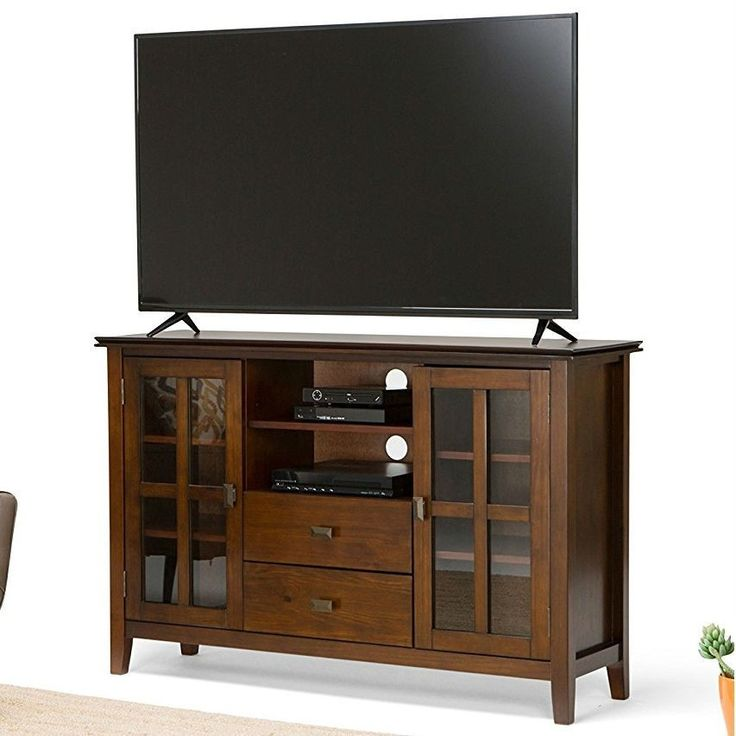 Medium Brown Solid Wood Tall TV Stand for TV s up to 60 inch. 17 Best ideas about Tall Tv Stands on Pinterest   Tall tv cabinet