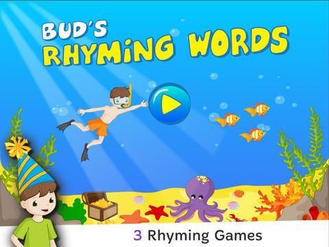 Bud's rhyming Words