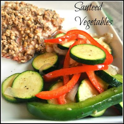 Mom, What's For Dinner?: Sauteed Vegetables