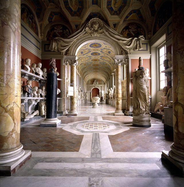 Innenraum des Vatikanische Museen