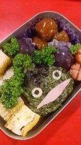あせらずまったりと。マイペースな子育て&買い物日記。 野菜パウダーで作った妖怪ウォッチのキャラ弁