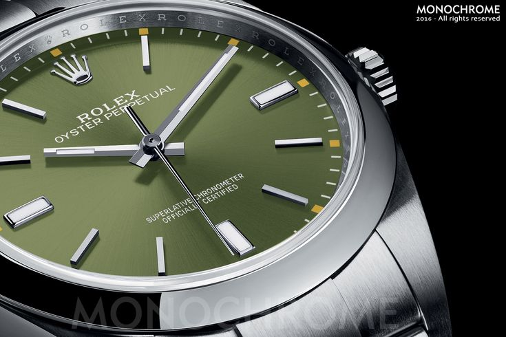 Rolex Oyster Perpetual 39 114300 olive green - Rolex Baselworld 2016 - Rolex Predictions 2016 - 3 - Monochrome
