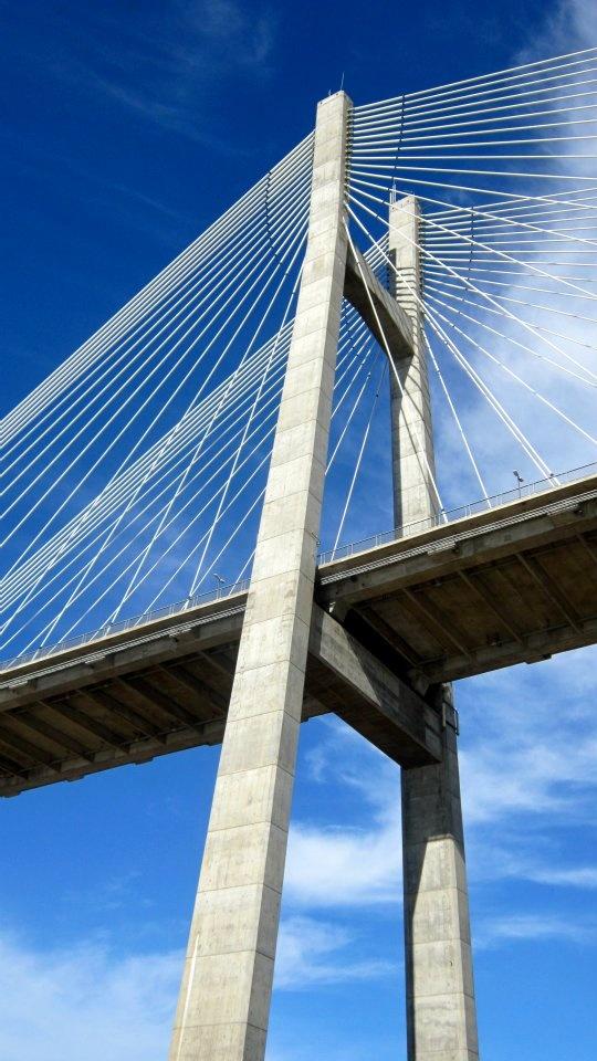 Bridge in Rosario, Argentina