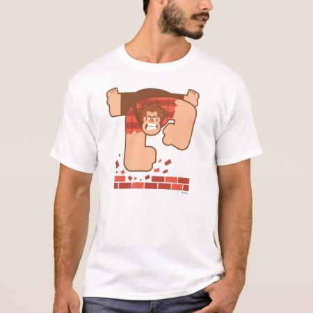 Wreck it Ralph Pounding Bricks T-Shirt - click to get yours right now!