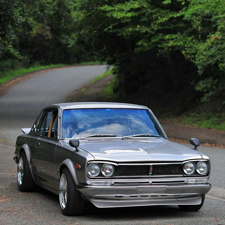 "1,284 Likes, 8 Comments - @911racer on Instagram: ""🔵 The ...  1972 Nissan Skyline Jdm"