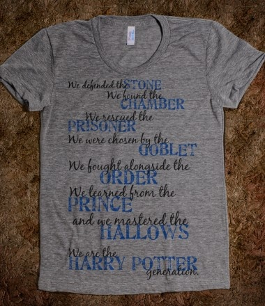 currently purchasing....: Birthday Presents, Funny Tees, Harry Potter Shirts,  T-Shirt,  Tees Shirts, Totes Bags, Hp Generation, T Shirts, Potter Generationi
