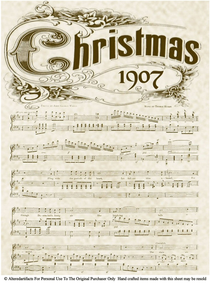 Christmas 1907 free printable image by alteredartifacts on Photobucket