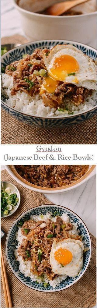 Gyudon (Japanese Beef & Rice Bowls) recipe by the Woks of Life