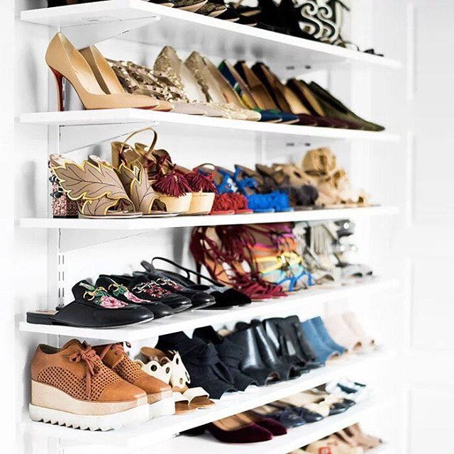 Welcome to shoe heaven.  #goals # : @blankitinerary