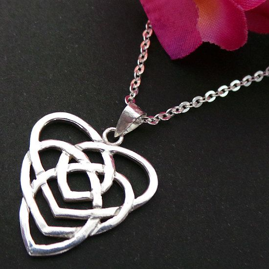 18 best celtic motherhood knot jewelry images on pinterest celtic celtic motherhood knot jewelry necklace mozeypictures Gallery