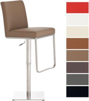 Edelstahl-Barhocker CARTAGO, moderne Eleganz in Perfektion, drehbar, Sitzhöhe 57 - 81 cm, aus bis zu 7 Bezugfarben wählen Jetzt bestellen unter: https://moebel.ladendirekt.de/kueche-und-esszimmer/bar-moebel/barhocker/?uid=615f296a-4419-59a9-8d38-0bacb1285427&utm_source=pinterest&utm_medium=pin&utm_campaign=boards #barhocker #kueche #stehtische #esszimmer #barmoebel