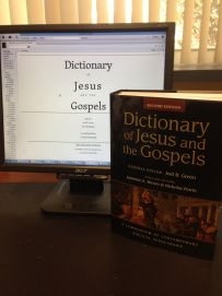 """Blog review from Nijay Gupta: """"What are you waiting for? Order the new Dict of Jesus and the Gospels."""""""