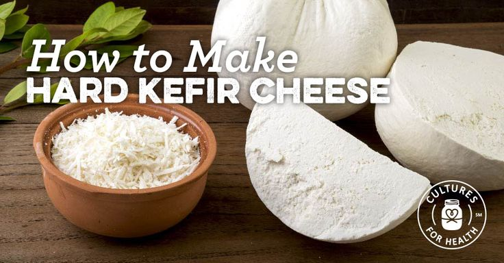 Kefir is sucha versatile cultured food that can be sued to make a variety of other cultured dairy products. Making this Hard Kefir Cheese recipe is a good way to use up excess kefir!