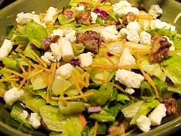Outback Steakhouse Copycat Recipes: Bleu Cheese Chopped Salad @Valerie Johnson   AH HA - this is the one I was looking for - got excited when I saw the first one LOL