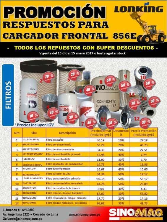 Promoción de repuestos SINOMAQ – Repuestos para cargador Frontal LONKING  856 E Promoción de repuestos para cargador frontal LO .. http://lima-city.evisos.com.pe/promocia-n-de-repuestos-sinomaq-a-repuestos-para-cargador-frontal-lonking-856-e-id-641213